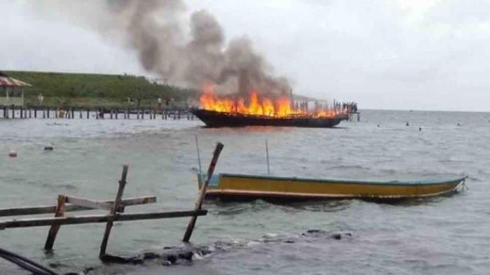 KM Mujur Indah Terbakar di Perairan Banda, Ini Penyebabnya