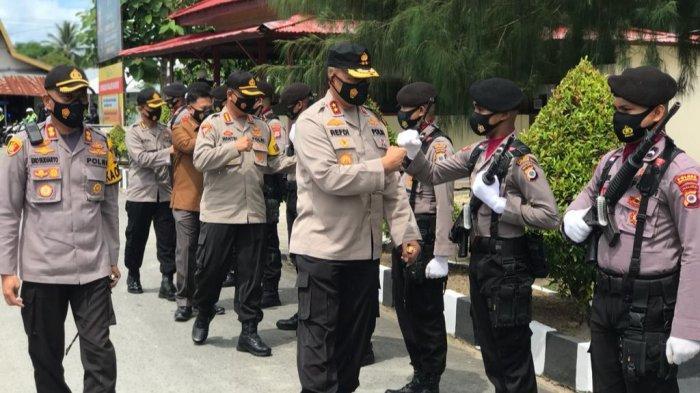 Kunjungi Aru, Kapolda Maluku Sarankan Personel Konsumsi Multivitamin