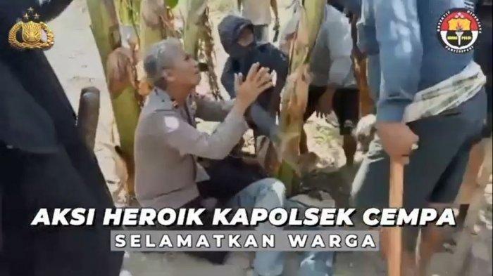 Iptu Akbar, Sosok dalam Viral Video Kapolsek Cempa Bersimpuh di Hadapan Massa yang Bawa Golok
