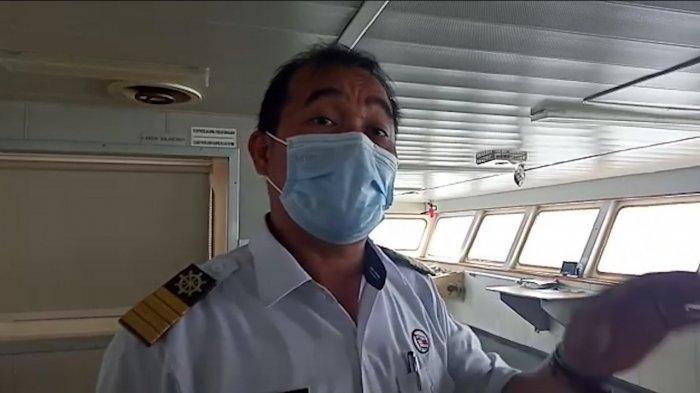 Kapten KM Tidar Sebut Kapal Kandas Murni Akibat Arus dan Angin Kencang