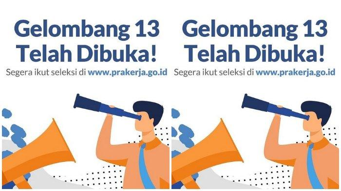 Link Pendaftaran Kartu Prakerja Gelombang 13 di www.prakerja.go.id, Siapkan KTP