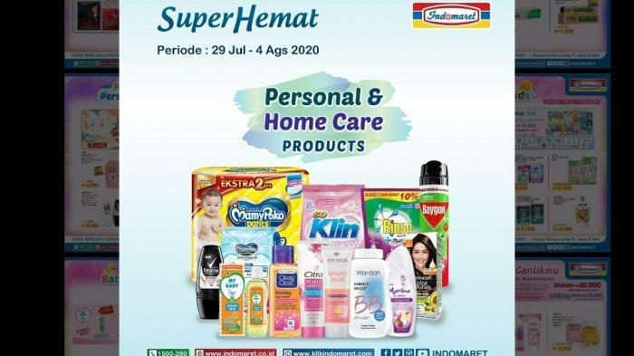 Katalog Promo Indomaret Super Hemat 29 Juli - 4 Agustus 2020, Beli 2 Gratis 1 hingga Diskon 50%