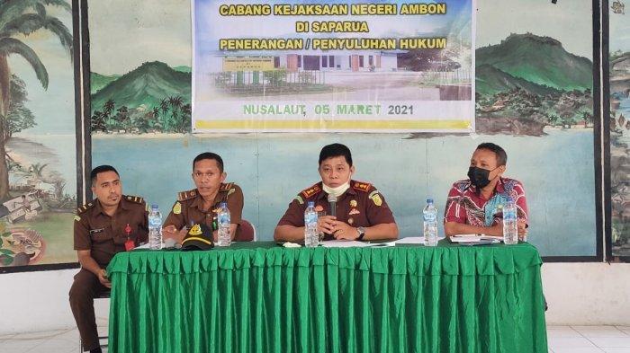 Korupsi Dana Desa Marak Terjadi di Saparua, Jaksa Minta Saniri Awasi Ketat Pemerintah Desa
