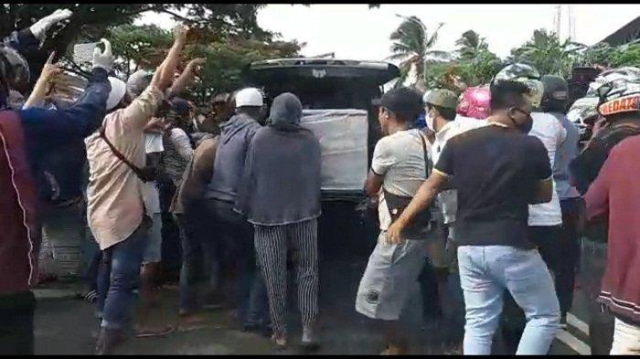 Polisi Amankan 8 Orang Terkait Insiden Pengambilan Paksa Jenazah Pasien Covid-19 di Ambon