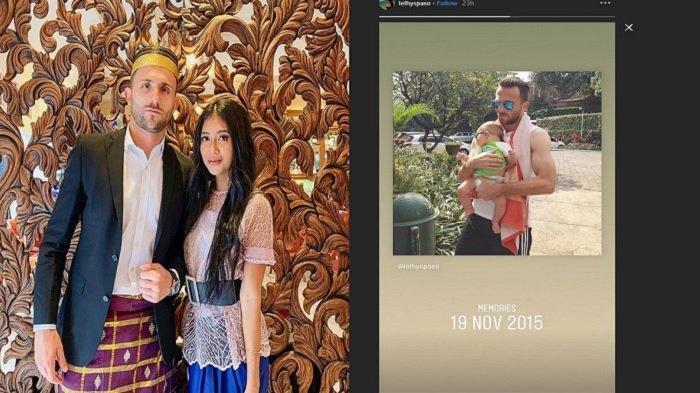 Firasat? Sebelum Meninggal Dunia, Istri Striker Bali United, Lelhy Arief Spasojevic Kenang Foto Ini