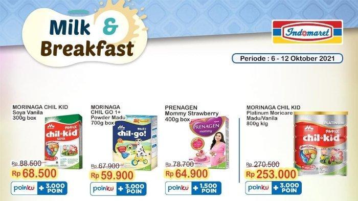 Besok Terakhir Promo Indomaret Super Hemat Edisi Ke-40: Produk Susu Anak Diskon hingga Rp 20.000
