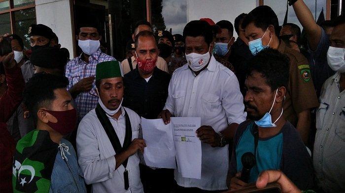 DPRD Maluku Nyatakan Sikap Tolak Omnibus Law, Ketua DPRD Janji Teruskan Aspirasi Demo ke DPR RI
