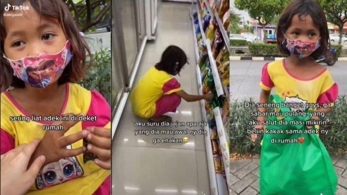Viral Pemulung Cilik Diajak ke Minimarket, Tak Ambil Makanan untuk Sendiri Saja