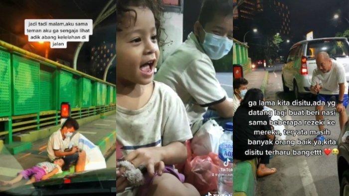 Viral Polwan Bertemu Bocah Pencari Barang Bekas di Pinggir Jembatan, Ini Kisah Dibaliknya