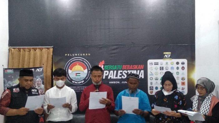 Perjuangkan Kebebasan Palestina, ACT Maluku Deklarasikan Komite Bantuan untuk Palestina