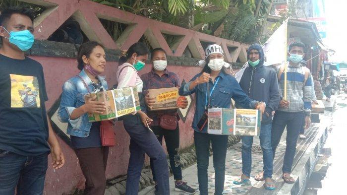 Bantu Korban Banjir Kalimantan Tengah, Mahasiswa Hindu di Ambon Galang Dana