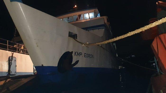 Mati Mesin di Tanjung Alang, KMP Egron Berhasil Dievakuasi ke Pelabuhan Galala – Kota Ambon