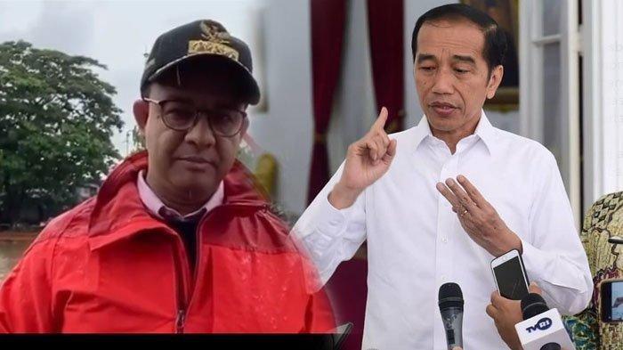 Sebut Ini Banjir Terparah, Jokowi Ambil Alih Penanganan Banjir di Jakarta dari Anies Baswedan