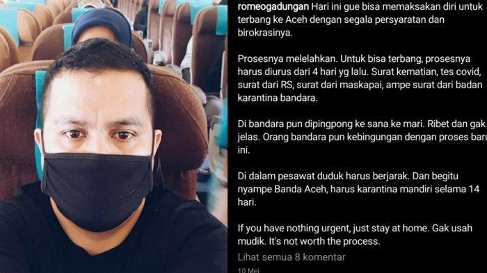 VIRAL Cerita Perjuangan Sulit Mudik dari Jakarta ke Aceh, Terpaksa Pulang karena Sang Adik Meninggal