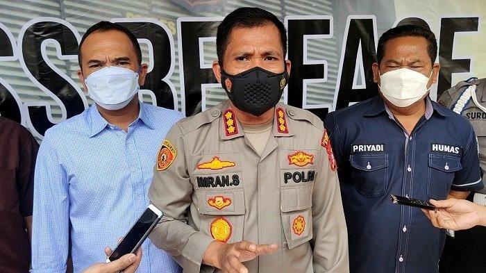 Kombes Pol Imran Edwin Siregar Kapolres Metro Depok saat di Mapolrestro Depok