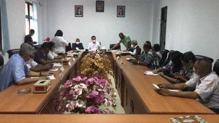 Rapat Lanjutan Sengketa Lahan SD Negeri 50 dan 64, Pemkot Ambon Siap Bayar