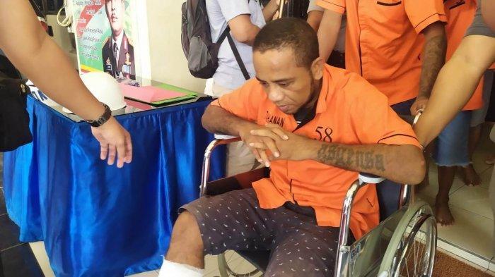 Melawan Polisi saat Ditangkap, Pelaku Utama Jambret di Ambon Dihadiahi Timah Panas