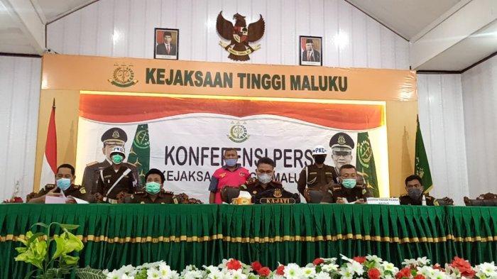 3 dari 4 Tersangka Kasus Korupsi Taman Kota Sudah Ditahan, Termasuk Mantan Kadis PUPR KKT - Maluku