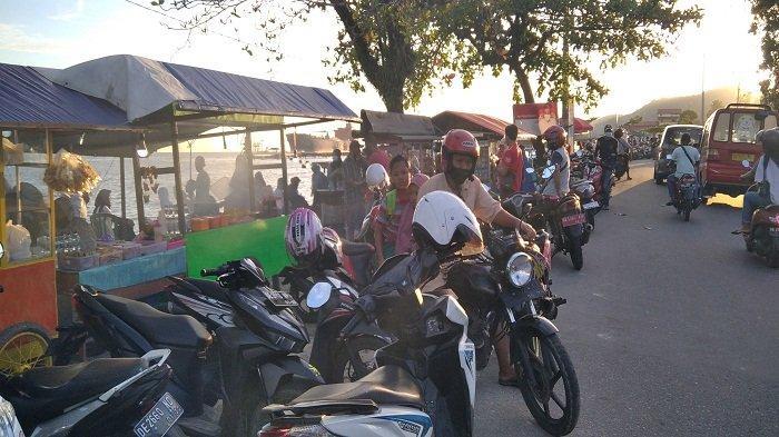 Menikmati Senja dan Kuliner Kaki Lima di Kawasan Kota Jawa Teluk Ambon