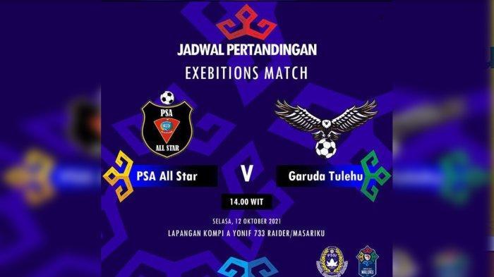 PSA All Star Kontra Garuda Tulehu jadi Laga Pembuka Final Liga 3 Maluku 2021