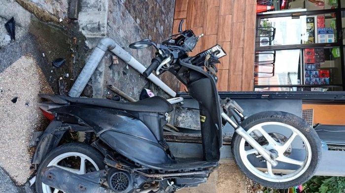 Kecelakaan di Jalan Jenderal Sudirman, Dua Pelajar Luka-Luka Langsung Dilarikan ke Rumah Sakit