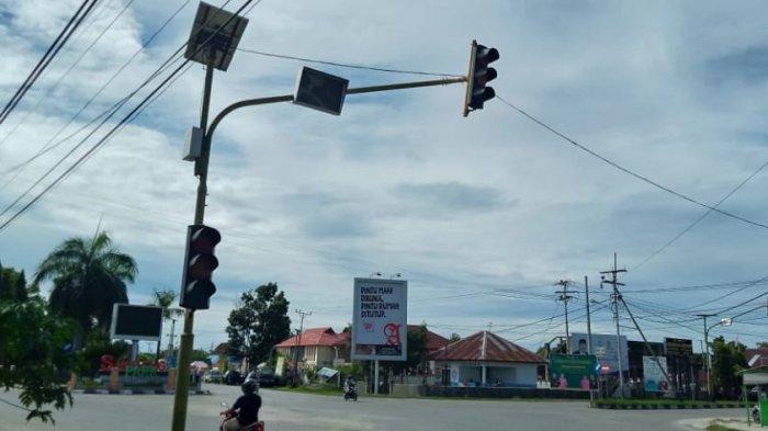 Perbaikan Traffic Light Kota Namlea Tunggu Alat dari Jogjakarta
