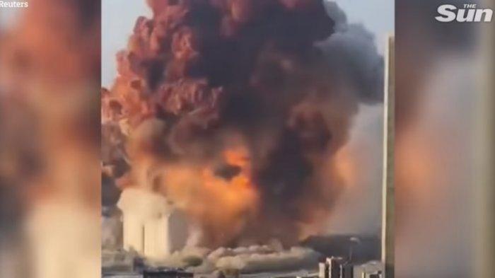 Ledakan Besar Terjadi di Pelabuhan Lebanon - Beirut, 70 Orang Tewas dan 4.000 Luka-Luka