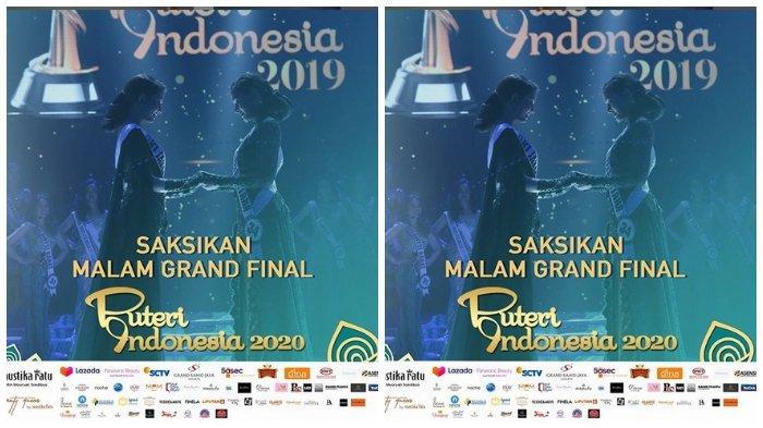 Live Streaming Final Puteri Indonesia 2020, Malam Ini Pukul 20.00 WIB di SCTV