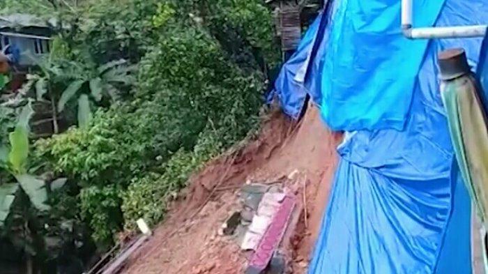 Curah Hujan Tinggi, Belasan Titik Longsor Terjadi di Kota Ambon, Warga Diminta Waspada