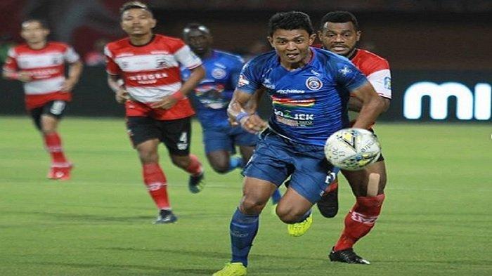 Update Klasemen Liga 1 2019 setelah Madura United Tumbangkan Arema FC, Laskar Sapeh Kerrab Melesat