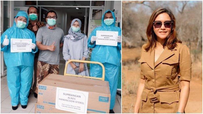 Aksi Kemanusiaan Sederet Artis Peduli Corona, Nikita Mirzani Sumbang Uang, Maia Estianti Sumbang APD