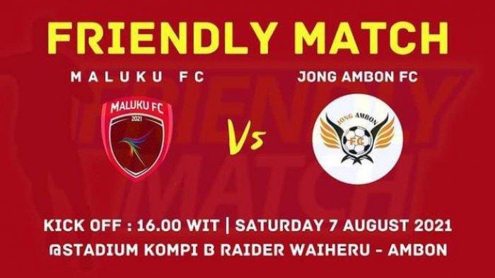 Dijadwalkan Eksebisi Hari Ini, Laga Maluku FC Melawan Jong Ambon FC Ditunda