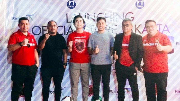 Layaknya Tim Papan Atas, Maluku FC Lunching Jersey dan Official Store di Jakarta