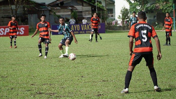 Pertandingan liga 3 Maluku yang mempertemukan Tulehu United melawan Maluku united berakhir imbang dengan Skor 2-2.