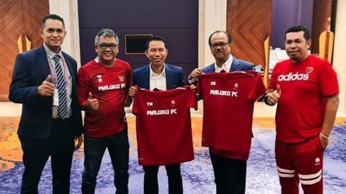 Semakin Serius, Maluku FC Temui Sekjen PSSI Bahas Hal Ini