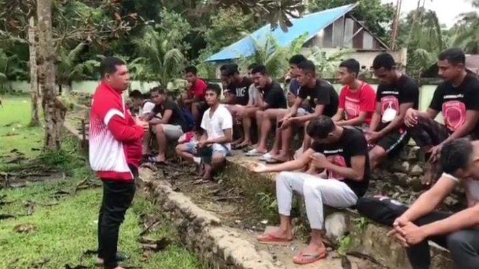 Maluku FC Bungkus Skor Telak Tanpa Balas Melawan Tanah Goyang FC, Saidna bin Thahir; Kuncinya Kompak