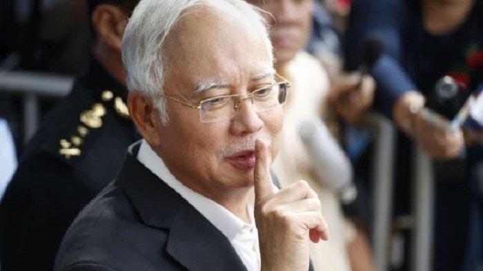 Mantan PM Malaysia Najib Razak Lolos dari Hukuman Cambuk Tapi Dipenjara selama 72 Tahun