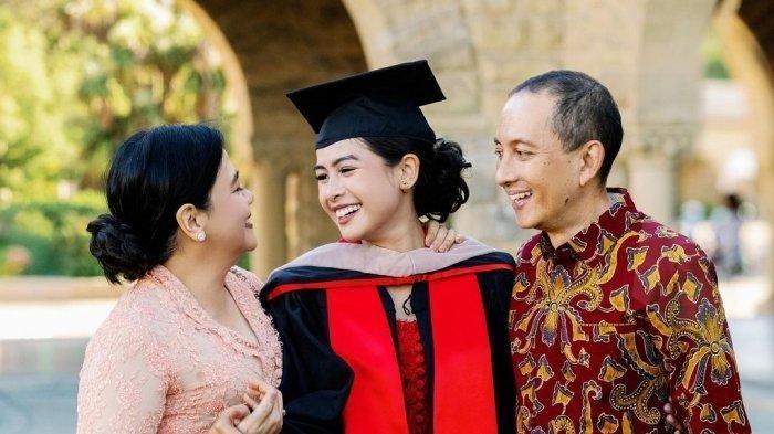 Maudy Ayunda Umumkan Kelulusan Jenjang S2 dari Stanford University