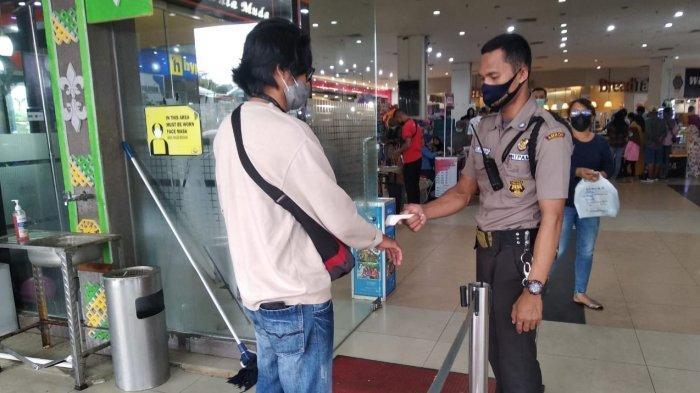 Tidak Pakai Masker, Pengunjung Mall di Kota Ambon Tidak Akan Dilayani