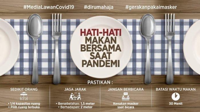 Hati-hati Makan Bersama: Lakukan 5 Hal Ini Saat Makan Bersama agar Terhindar dari Covid-19