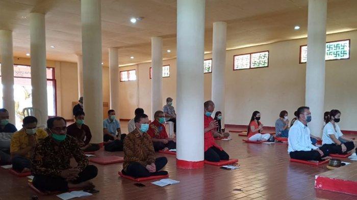 Rayakan Waisak Ditengah Pandemi, Jauwerissa Ajak Umat Buddha di Maluku Sebarkan Kebajikan