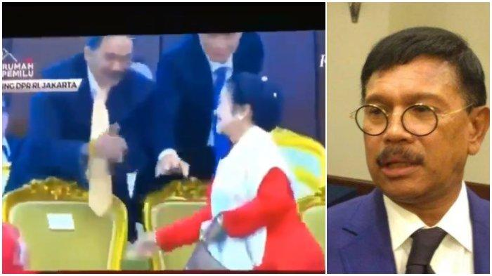 Viral Megawati Tak Mau Jabat Tangan Surya Paloh, Sekretaris Nasdem: Hahaha Saya Ketawa Saja