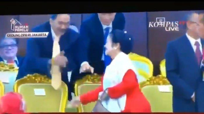Video Detik-detik Megawati Buang Muka dan Menolak Jabat Tangan dengan AHY & Surya Paloh