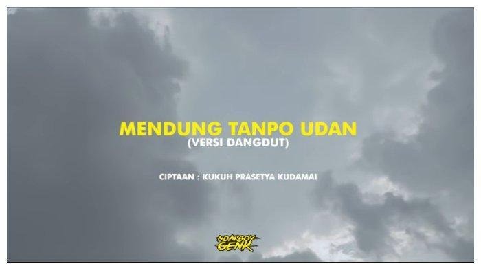 Chord Lagu Mendung Tanpo Udan - Ndarboy Genk, Mulai dari Kunci C