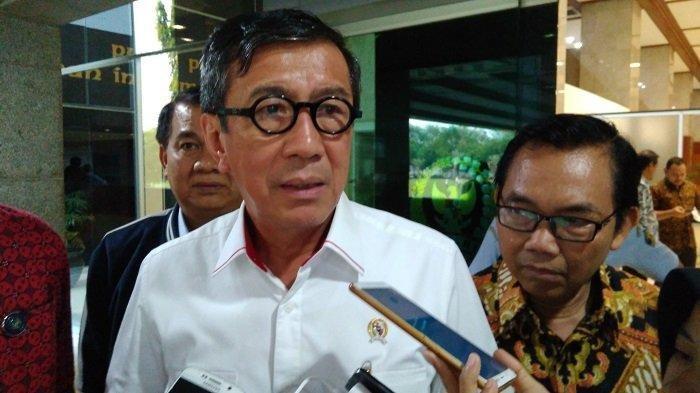 Daftar Nama Menteri Jokowi yang Layak Dicopot Berdasarkan Survei IPO, Termasuk Yasonna Laoly