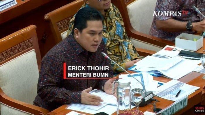 Erick Thohir akan Kembali Rombak Pimpinan, Sebut Tiga Bank BUMN