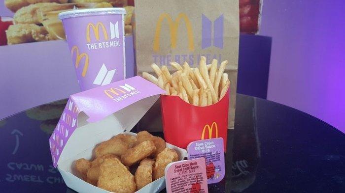 Fakta BTS Meal McDonalds Viral: Sebabkan Antrean hingga Alasan Fans untuk Dapatkan Bungkus