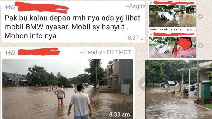 Viral BMW Hanyut Terseret Banjir, Pemilik Temukan Mobilnya Tersangkut di Pohon