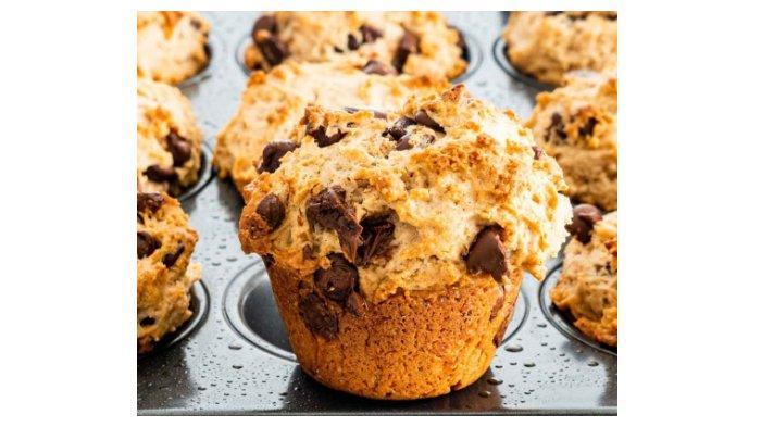 Resep Muffin Chocolate Chip, Dibuat dari Awal yang Sempurna Pas untuk Sarapan atau Camilan