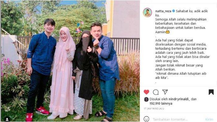 Alvin Faiz dan Larissa Chou Saling Tuding, Natta Reza Beri Pesan Agar Tak Mengumbar Aib